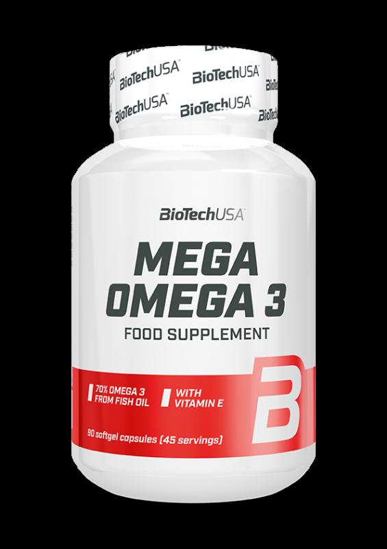 Mega Omega 3  - 90 Softgel Kapseln